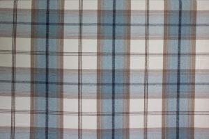 Balmoral Sky Blue Tartan Fabric