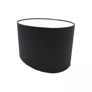Black Oval Lampshade