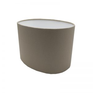 Dark Beige Oval Lampshade