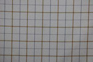 Exford Amber Tartan Fabric