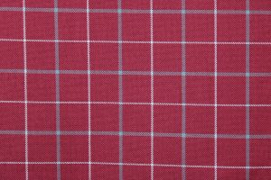 Exford Cherry Tartan Fabric