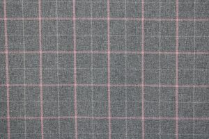 Exford Grey Tartan Fabric