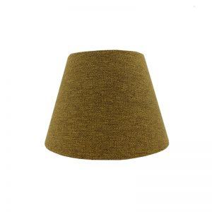 Mustard Yellow Herringbone Empire Lampshade