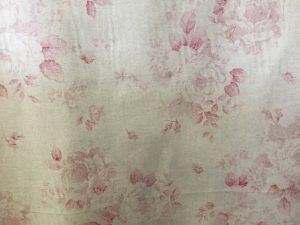 Red Faded Rose Fabric