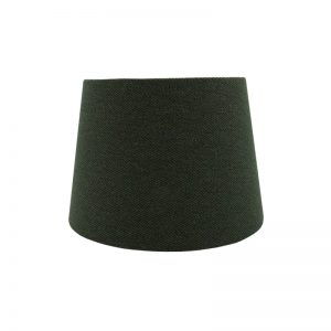 Toad Green Herringbone French Drum Lampshade