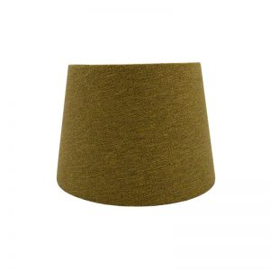 Mustard Yellow Herringbone French Drum Lampshade