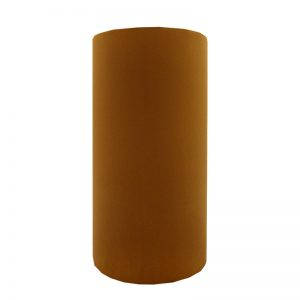 Burnt Orange Velvet Tall Drum Lampshade