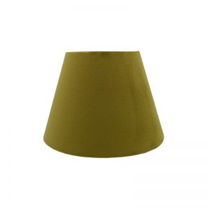 Mustard Yellow Velvet Empire Lampshade