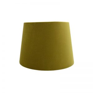 Mustard Yellow Velvet French Drum Lampshade