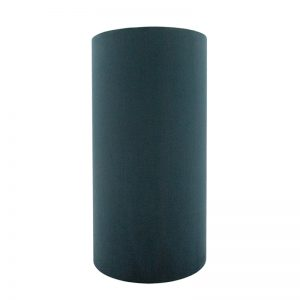 Teal Velvet Tall Drum Lampshade