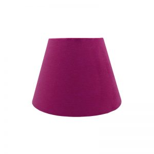 Fuchsia Bright Pink Velvet Empire Lampshade