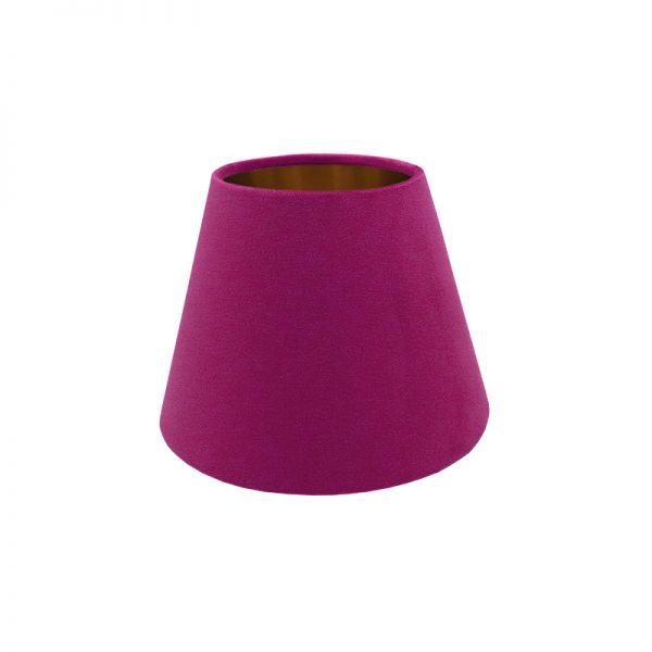 Fuchsia Bright Pink Velvet Empire Lampshade
