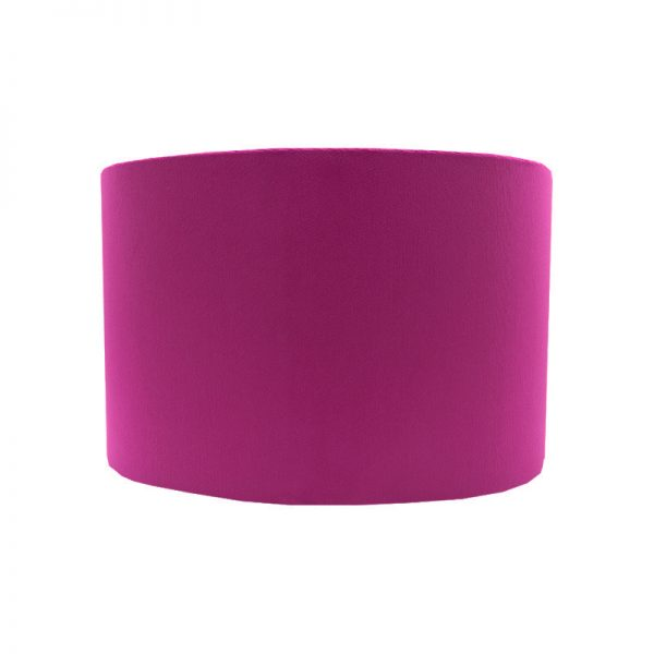 Fuchsia Bright Pink Velvet Oval Lampshade