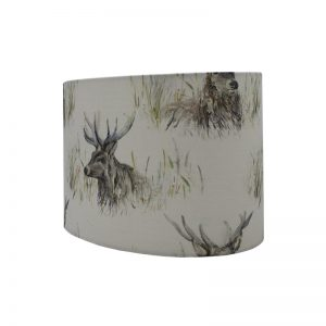 Voyage Wallace Stag Oval Lampshade