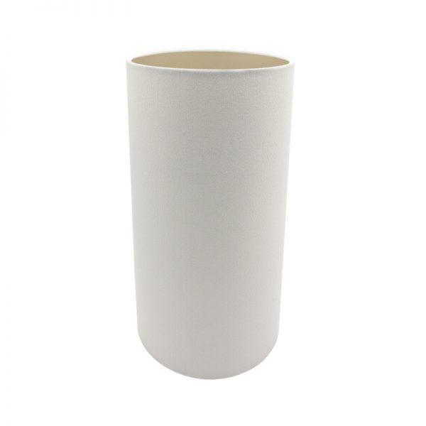 White Tall Drum Lampshade