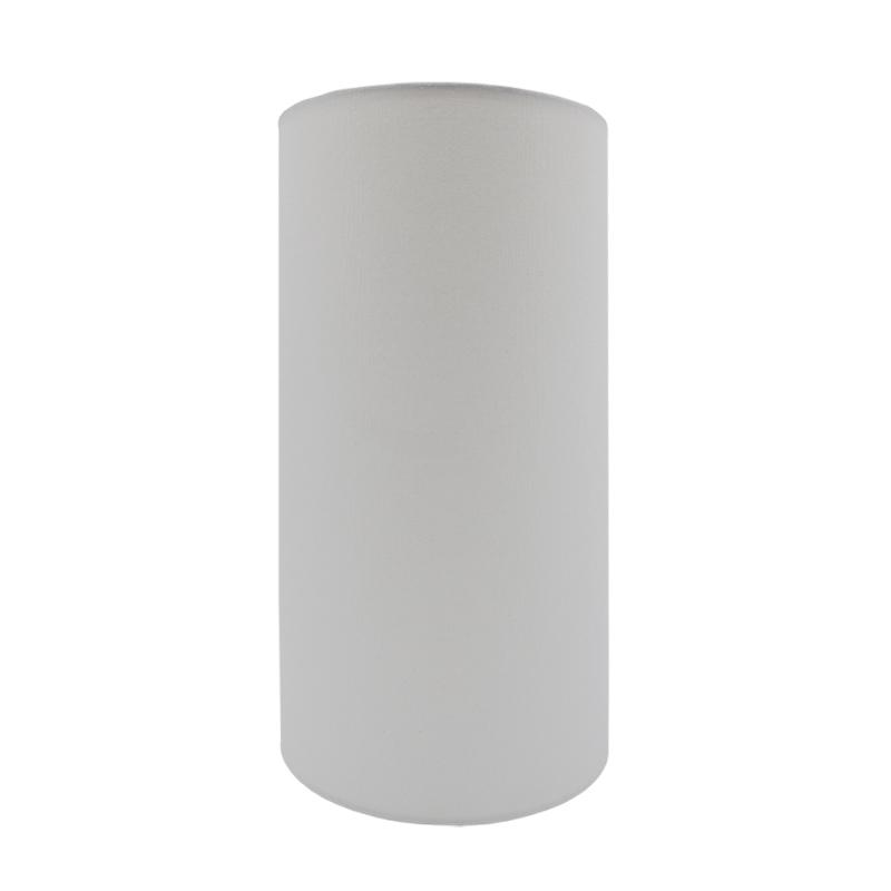 White Tall Drum Lampshade Barn, Tall Barrel Lamp Shades