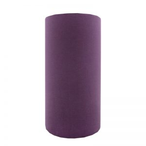 Aubergine Purple Velvet Tall Drum Lampshade