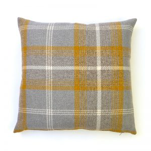 Balmoral Amber Square Cushion