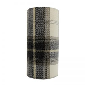 Balmoral Charcoal Tall Drum Lampshade