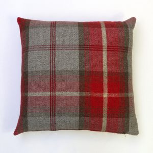 Balmoral Cherry Square Cushion