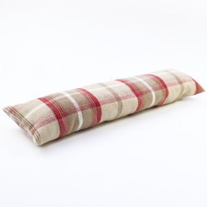Balmoral Cranberry Draught Excluder