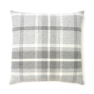 Balmoral Dove Grey Square Cushion