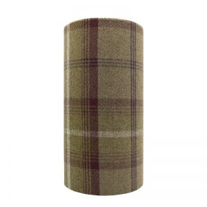 Balmoral Heather Tall Drum Lampshade