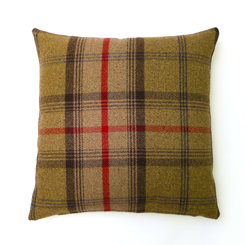 Balmoral Hunter Square Cushion
