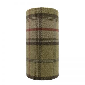 Balmoral Hunter Tall Drum Lampshade