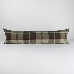 Balmoral Maroon Draught Excluder