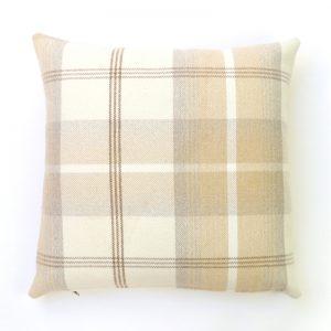 Balmoral Natural Square Cushion