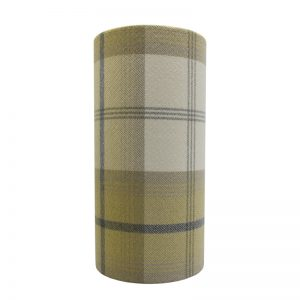 Balmoral Ochre Tall Drum Lampshade