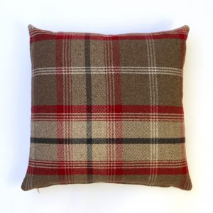 Balmoral Rosso Square Cushion