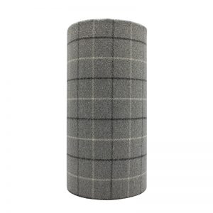 Bamburgh Dove Grey Tall Drum Lampshade
