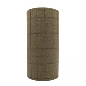 Bamburgh Heather Tall Drum Lampshade