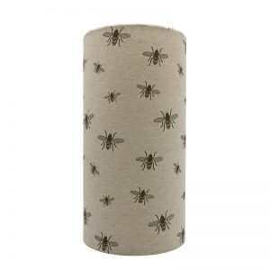 Bees Tall Drum Lampshade