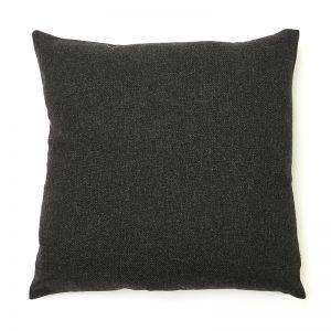 Dark Grey Wool Cushion