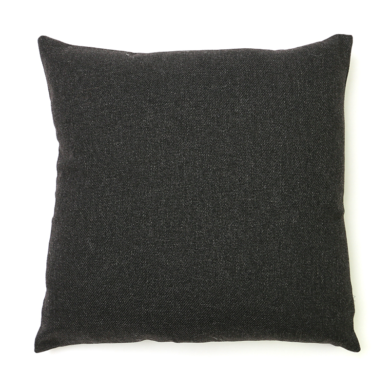 Dark Grey Wool Cushion