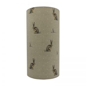 Hartley Hare Tall Drum Lampshade