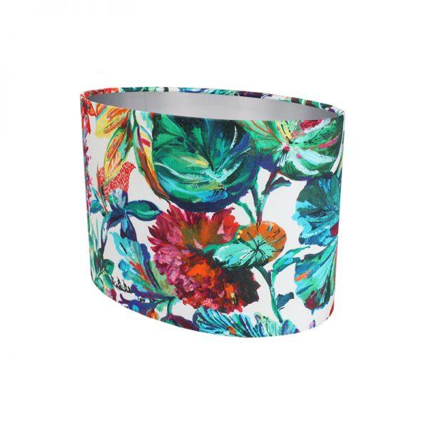 Inaya Floral Oval Lampshade