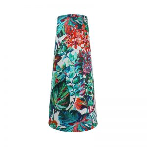 Inaya Floral Tall Tapered Lampshade