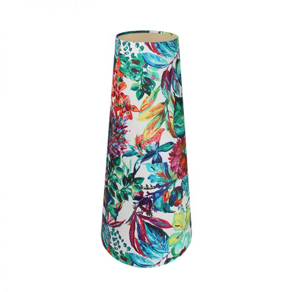 Inaya Floral Tall Tapered Lampshade