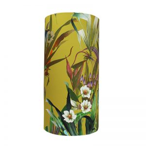 Josie Ochre Tall Drum Lampshade