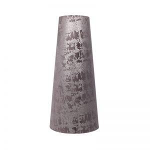 Mercury Lavender Velvet Tall Tapered Lampshade