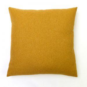 Mustard Yellow Wool Cushion