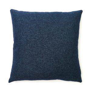 Navy Blue Wool Cushion