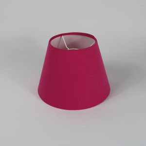 Sorbet Bright Pink Empire Ceiling Lampshade White Inner