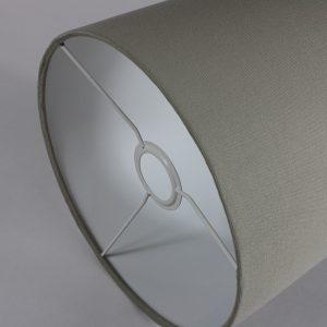 Stone Drum Lampshade White Inner