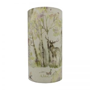 Voyage Enchanted Forest Tall Drum Lampshade