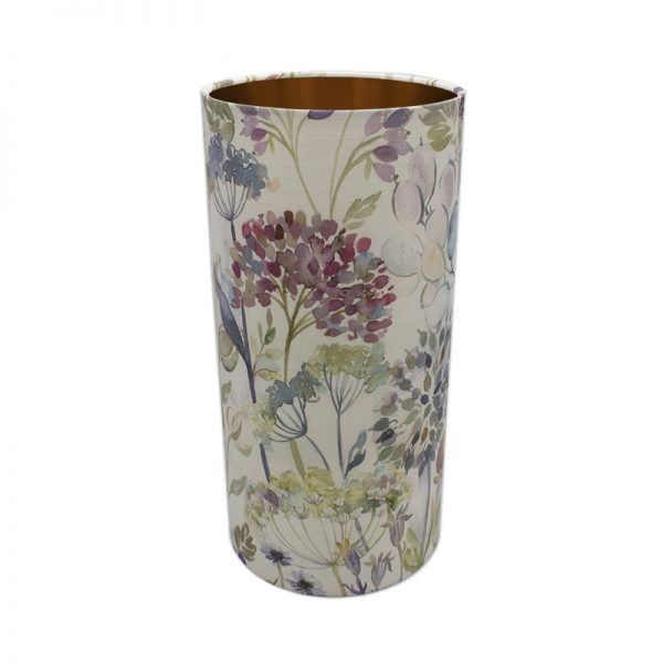 Voyage Hedgerow Pink Tall Drum Lampshade